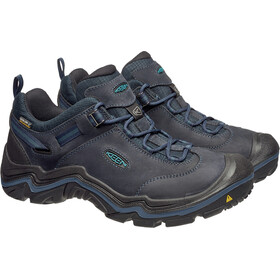 Keen Wanderer WP Shoes Men dark sea/night